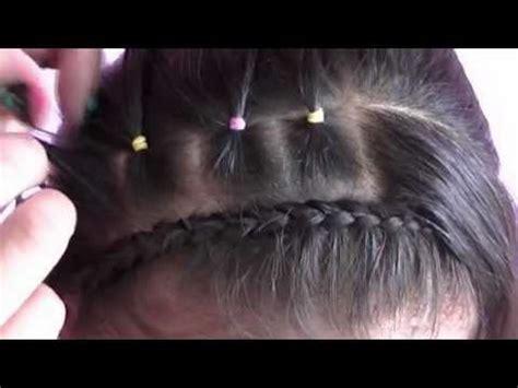 peinados de nina faciles paso a paso
