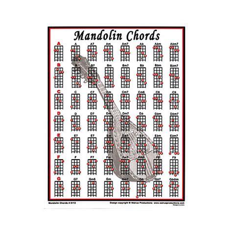 mandolin chord chart walrus productions mandolin chord mini chart guitar center