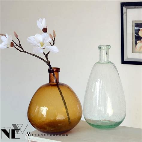Decorating With Large Glass Vases by Vases Design Ideas Brilliant Large Glass Vase Ideas