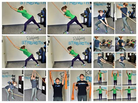 exercises to do at your 21 resistance band workout chart sport fatare