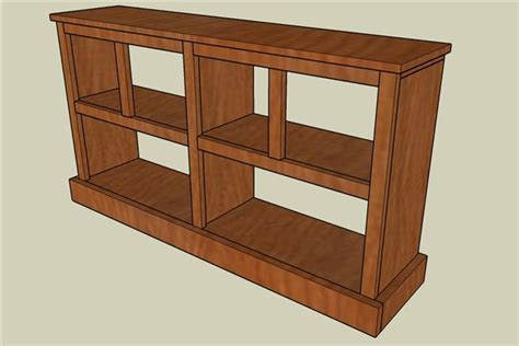 plans to build woodworking small bookcase simple project
