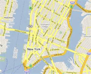 A Map Of New York City by Maps Of Dallas Map Of New York City