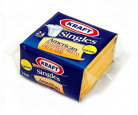 Cheese Kraft Recall Kraft American Cheese Single Slices