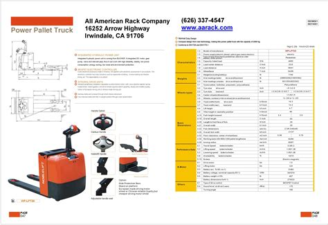Aa 05 Alnita pallet jacks electric a a boltless rack and shelving