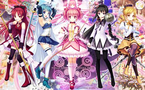 shojo anime mahou shoujo madoka magica anime photo 30360059 fanpop
