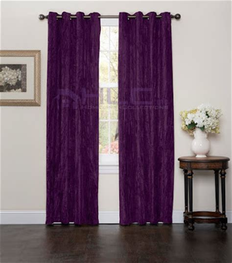 Purple Velvet Curtains All About S Things Purple Velvet Curtains