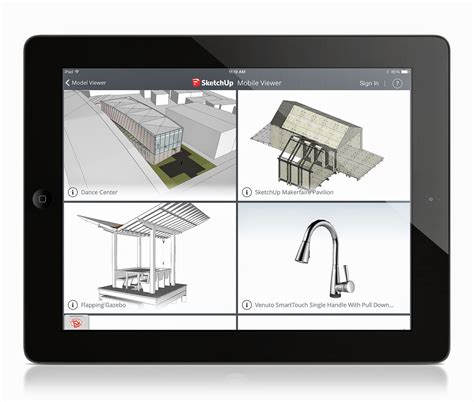 home design app for ipad tutorial sketchup announces mobile viewer for ipad archdaily