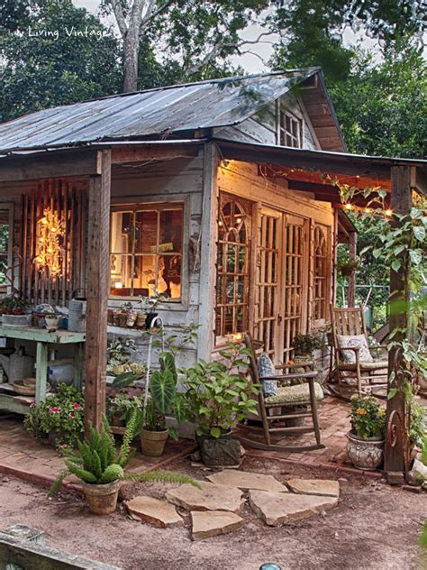 Vintage Garden Sheds by Diy Sunday Showcase And Features July 18 2015