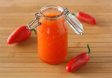 chili sauce recipe sweet chili sauce