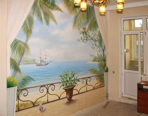 20 wall murals changing modern interior design with spectacular wall painting ideas