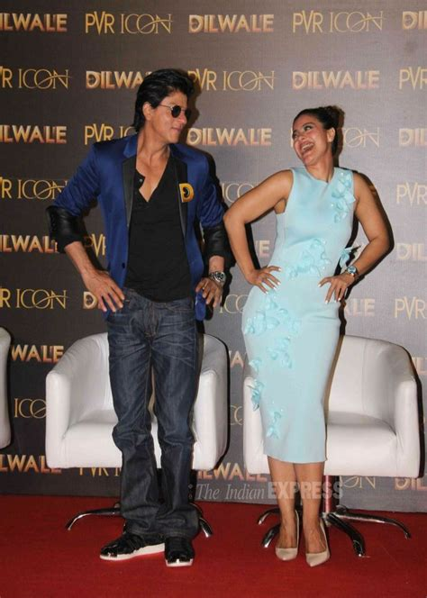 biography of movie dilwale shah rukh khan and kajol at the launch of