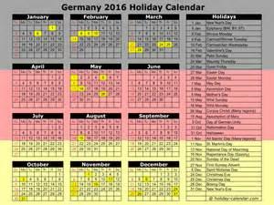 German Kalender 2016 Germany 2016 2017 Calendar