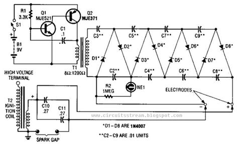 high voltage capacitor charge circuit september 2013 electronictheory gianparkash