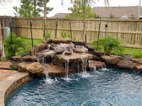 pool waterfall ideas best 25 pool waterfall ideas on pinterest pool fountain