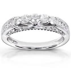 white gold wedding bands for antique design luxurious wedding band in white gold jewelocean