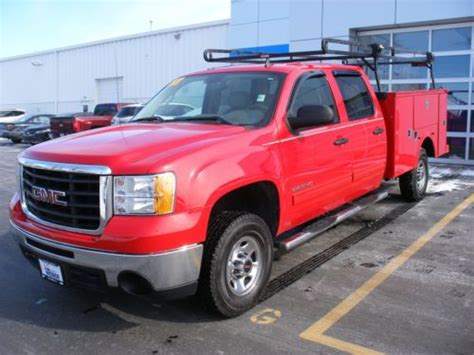 find used gmc sierra 2500 hd crew cab 4wd with utility