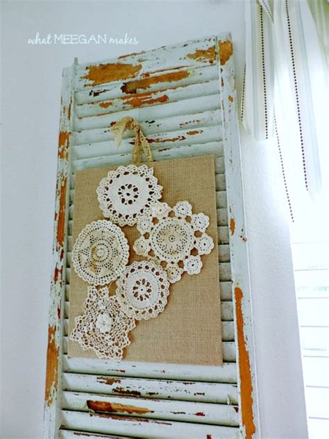 vintage craft projects 10 beautiful doily craft projects to make shabby