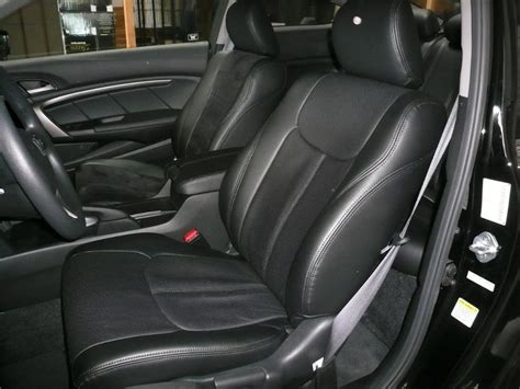 honda upholstery clazzio covers 2007 2011 honda fit leather seat covers