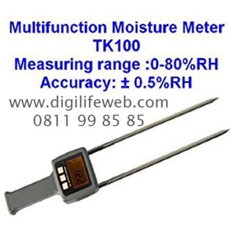 Moisture Meter Tk100s Alat Ukur Kadar Air Bijian moisture meter tk100