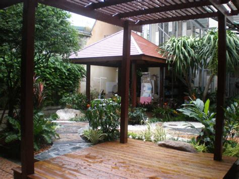 Tropical Patios and Terraces   Thai Garden Design