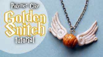 tutorial golden snitch charm from harry potter youtube