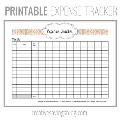 expense log book expense tracker notebook organizer keep track or daily record about personal cost spending expenses ideal for travel cost planner binder travelers notebook volume 6 books this free printable expense tracker keeps tabs on all your