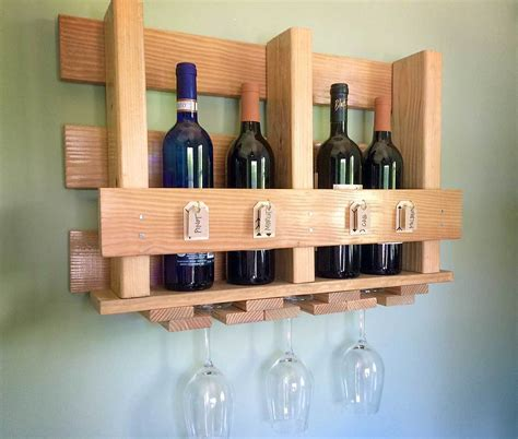 How To Build A Wine Rack In A Kitchen Cabinet 33 Diy Wine Glass Racks Guide Patterns