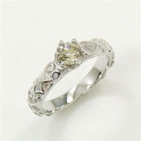 On Wgs 10lb 楽天市場 10金ホワイトゴールド k10wg ライトブラウンダイヤ 0 3ct リング アーアゼロワン jewelry