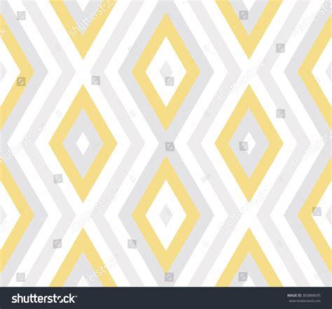 diagonal zig zag pattern seamless abstract geometric pattern pastel yellow stock