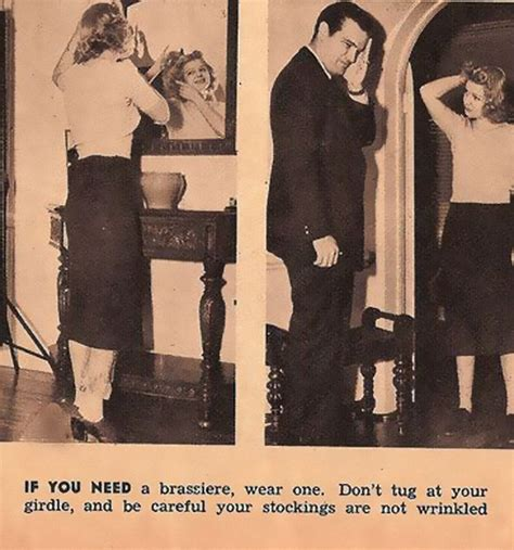 Dating Advice by Hilarious And Sexist Dating Tips From 1938 Bored Panda