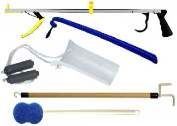 sock aid device after hip replacement economical hip kit for post hip or knee replacement surgery elderstore