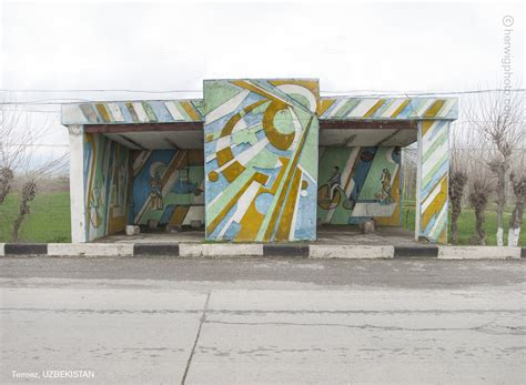 soviet bus stops this is not burning man these are the soviet bus stops of siberia