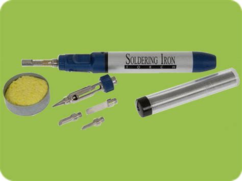 Gas Solder gas soldering iron acdc led lights