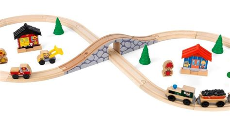 Figure 8 Sweepstakes - kidkraft 38 piece figure 8 wooden train set 17 80 reg 25 amazon prime members