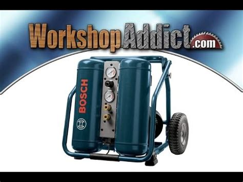 bosch cet4 20w 4 gallon electric 2 hp angled tank air compressor