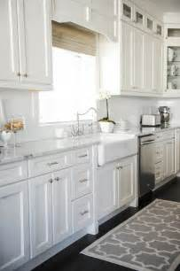 All White Kitchen by How To Make Your Boring All White Kitchen Look Alive