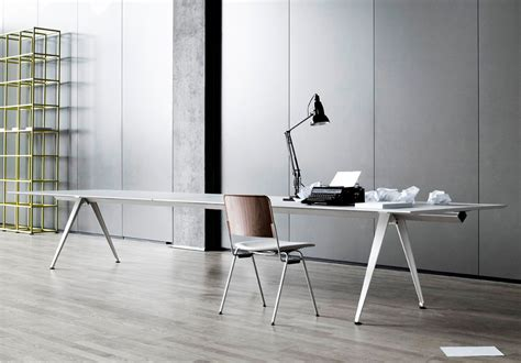 modern metal desk white modern metal table desk ambience dor 233