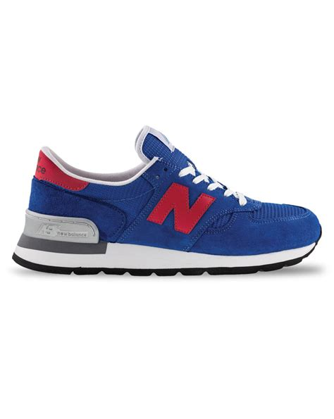 royal blue sneakers new balance royal blue suede 990 sneakers made in usa in
