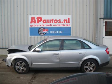 Audi A4 Baujahr 2001 by Audi A4 8e2 2 0 20v Schrott Baujahr 2001 Farbe Grau