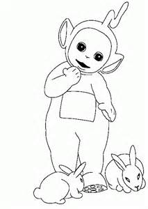 color pages to print free printable teletubbies coloring pages for