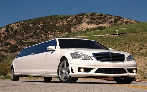 Los Angeles Limousine by Mercedes S550 Limo Rental In Los Angeles Limousine In La