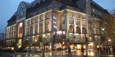 berlin shopping kadewe 220 berfall auf luxus kaufhaus kadewe in berlin 15 verletzte