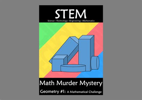 lesson plan for murder a master class mystery master class mysteries books stem geometry 1 a math murder mystery by kiwilander