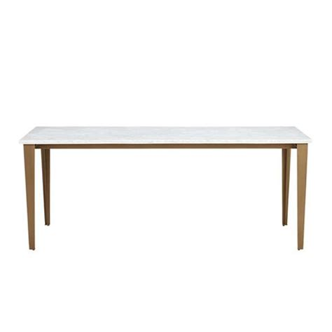8 marble topped dining tables we re coveting mydomaine