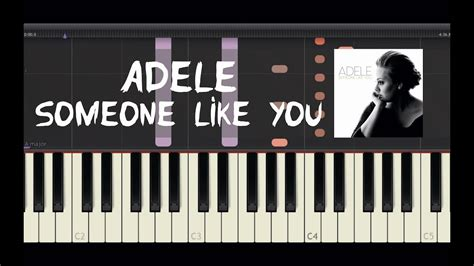 youtube tutorial piano someone like you adele someone like you piano tutorial by amadeus