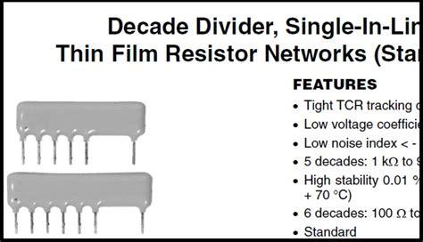 resistor network ratio tolerance resistor network ratio tolerance 28 images resistors resistor color code chart precision