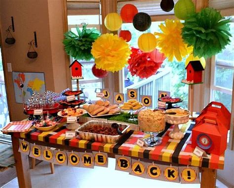 welcome home decoration ideas balloon backdrop