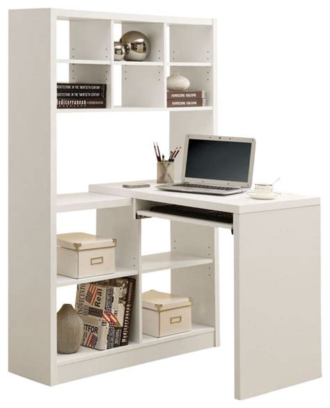 Monarch Specialties 38 X 36 Hollow Core Left Or Right Monarch White Hollow Corner Desk