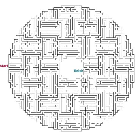 printable hamburger maze difficult mazes to print www pixshark com images