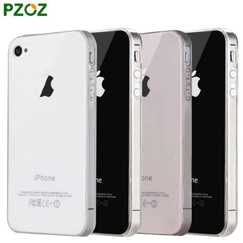 Pzoz Transparent Clear Soft Silicone For Iphone 55s compare prices on ipon 4s shopping buy low price ipon 4s at factory price aliexpress